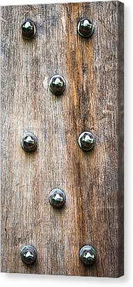 Wood And Bolts Canvas Print