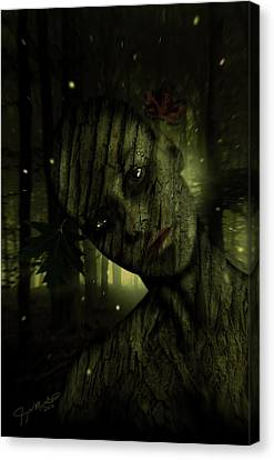 Wood You Canvas Print by Jeremy Martinson