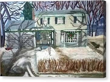 Woodbury 1968 Canvas Print by Richard  Hubal