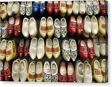 Wooden Shoes Canvas Print by Ed Rooney