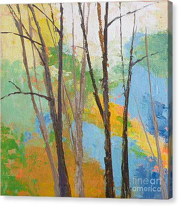 Woodland #2 Canvas Print by Melody Cleary