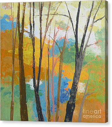 Woodland #3 Canvas Print by Melody Cleary