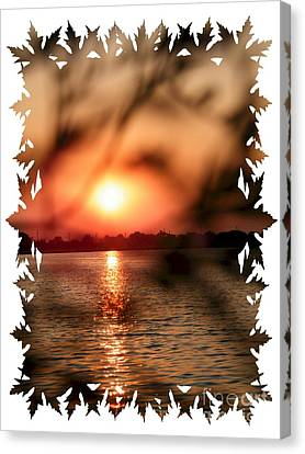 Woodmere Park Canvas Print by Laurence Oliver
