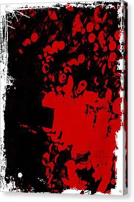 Woof Woof Canvas Print by Lynn Thomson