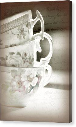 Words Remembered Canvas Print by Bonnie Bruno
