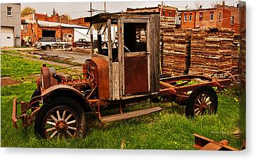 Workhorse Canvas Print by Edward Peterson