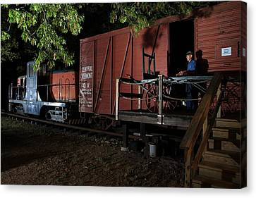 Working On The Railroad 2 Canvas Print