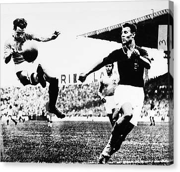 World Cup, 1938 Canvas Print by Granger