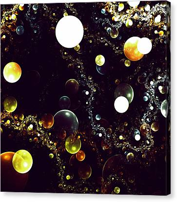 World Of Bubbles Canvas Print by Steve K
