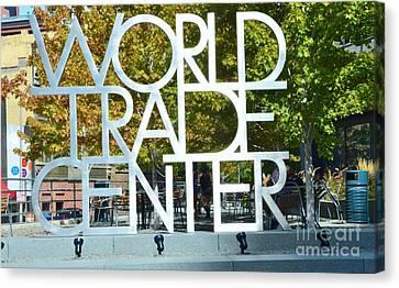 World Trade Center Canvas Print by Kathleen Struckle