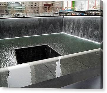 World Trade Center Memorial Canvas Print by Brianna Thompson