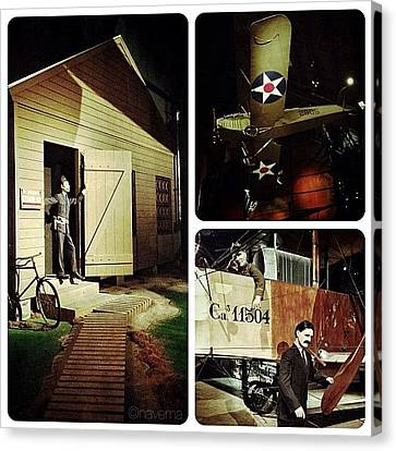 Ohio Canvas Print - World War 1 Exhibit by Natasha Marco
