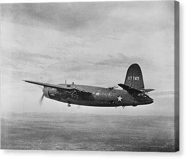 World War II, B-26 Martin Marauder Canvas Print by Everett