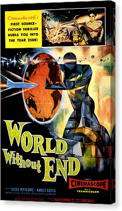 World Without End, Lisa Montell Top Canvas Print by Everett