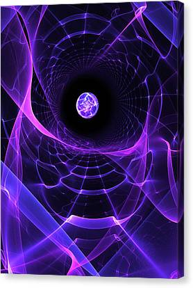 Wormhole Canvas Print by Pam Blackstone