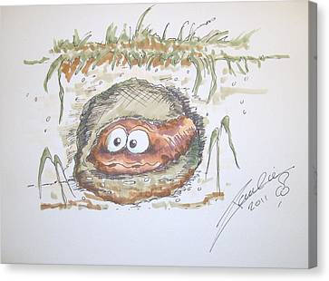 Wormhole Canvas Print by Paul Chestnutt