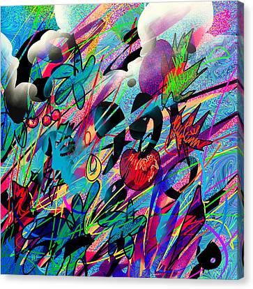 Wounded Fruit Canvas Print by Rachel Christine Nowicki