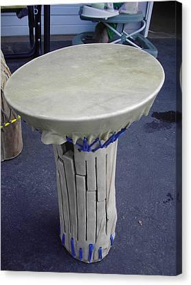 Xylophone Hand Drum Canvas Print by Hunter Quarterman
