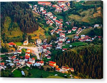 Yagodina Village Canvas Print by Evgeni Dinev