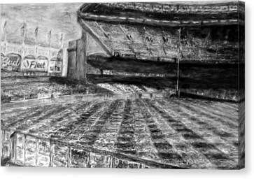 Yankee Stadium Canvas Print by Chris Ripley