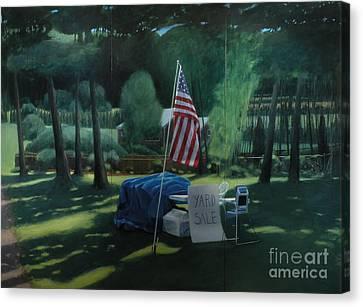 Yard Sale Canvas Print by Stephen Remick