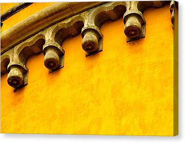 Yellow Castle Canvas Print