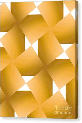 Yellow Fever Canvas Print by J Burns