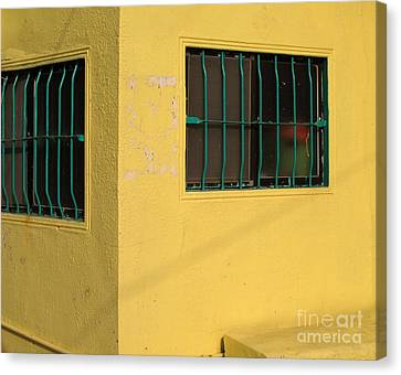 Yellow House Canvas Print by Yali Shi