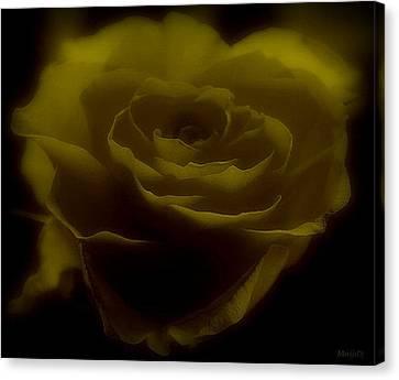 Canvas Print featuring the photograph Yellow by Marija Djedovic