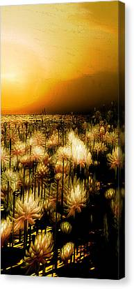 Yellow Canvas Print by Monroe Snook