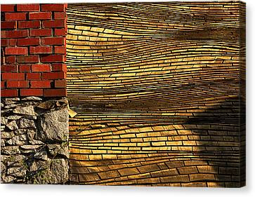 Yellow Roof Canvas Print