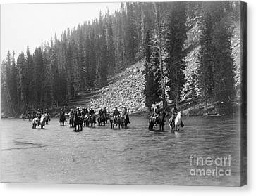 Yellowstone: Snake River Canvas Print by Granger