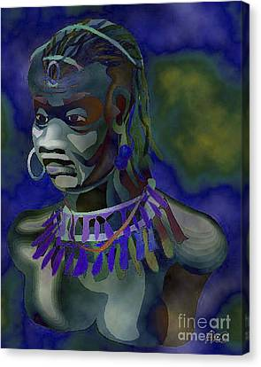 Orishas Canvas Print - Yemaya  by Liz Loz