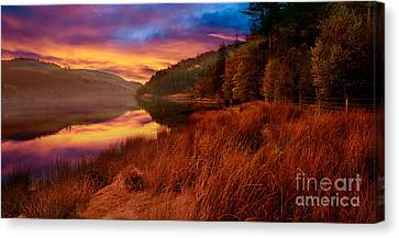 Yesterday Canvas Print