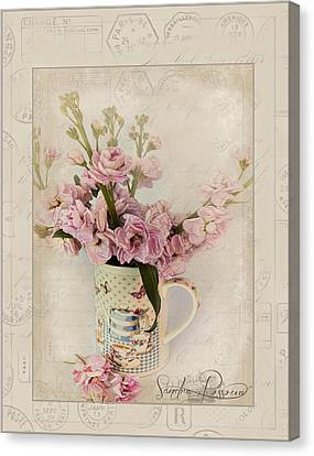 Yesterday's Letter  Canvas Print by Sandra Rossouw