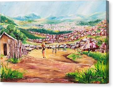 Yesteryears Canvas Print by Uly Ogwah