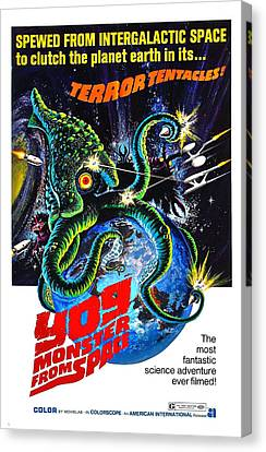 Yog Monster From Space, 1970 Canvas Print by Everett