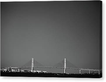 Yokohama Bay Bridge Canvas Print by Kiyoshi Noguchi