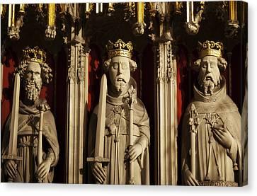 York Minster's Choir Screen Canvas Print by Beth Riser