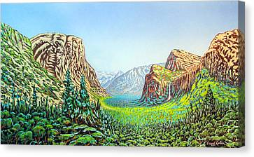 Yosemite Canvas Print by David Linton