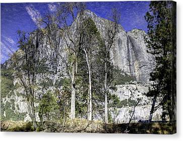 Yosemite Reflection Canvas Print by Mike Herdering