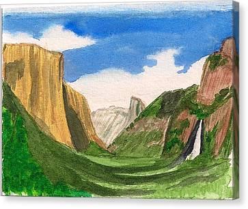 Yosemite Summer Canvas Print by Dianne Lanning