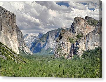 Yosemite Valley Canvas Print by Pierre Leclerc Photography