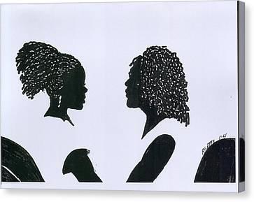 You Can Do It Canvas Print by Rhetta Hughes