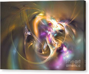 You Turn Me On Canvas Print by Sipo Liimatainen