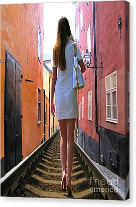 YOU Canvas Print by Yury Bashkin