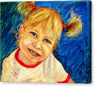 Young Girl 2 Canvas Print