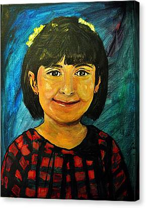 Young Girl 4 Canvas Print