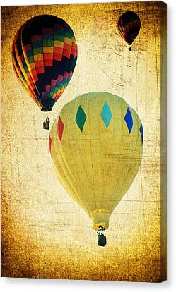 Your Balloon Ride Canvas Print by James Bethanis