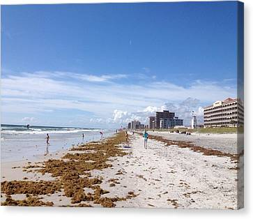 Your Beach Canvas Print by Jason Crandell